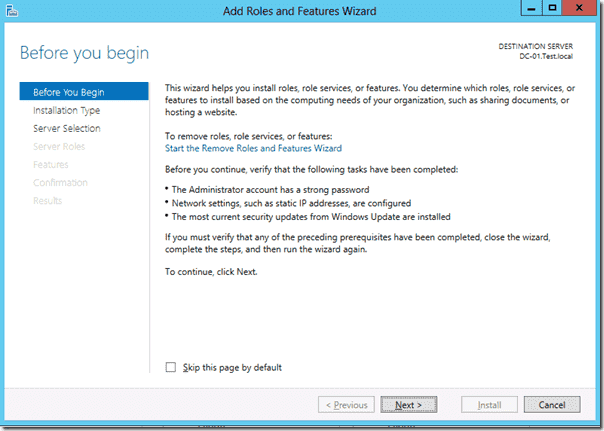 Windows 8 deployment - Install WDS