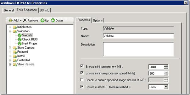 Windows 8 deployment - Minimum memory
