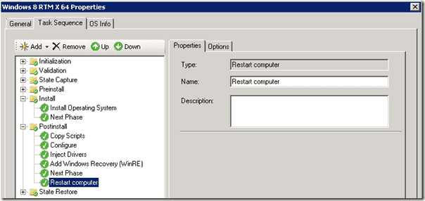Windows 8 deployment - PostInstall