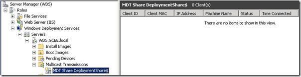 Windows Deployment Services - Auto-Cast session