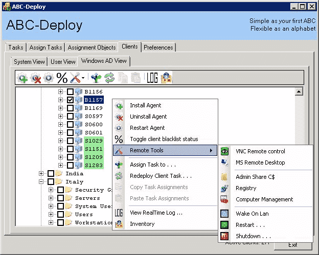 software deploy tools