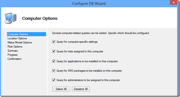 Windows 8 deployment - Computer-related queries