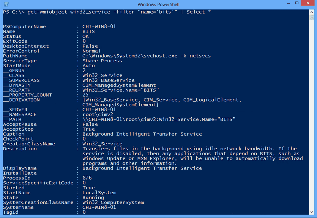 Managing Services the PowerShell way – Part 5: WMI and CIM – 4sysops