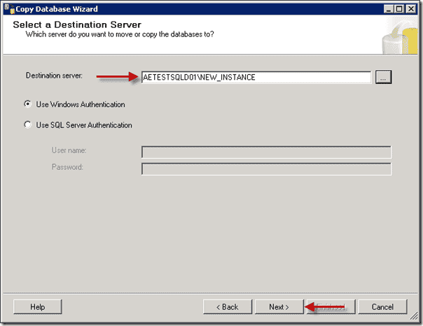 Sharepoint 2013 upgrade - Destination Server