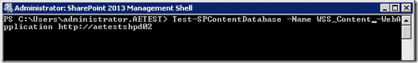 Sharepoint 2013 upgrade - SharePoint 2013 Management Shell