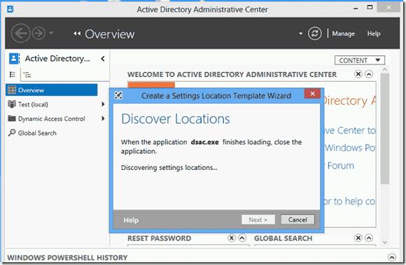 UE-V Genertor discover locations
