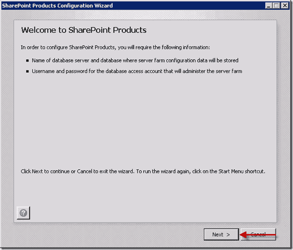 Welcome to SharePoint Products