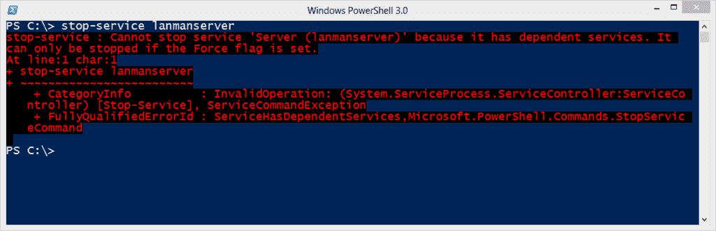 Managing Services the PowerShell way – Part 3: Start and stop