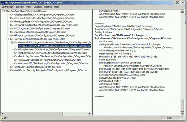 Autodiscover in a multi-forest environment - Add pointer record