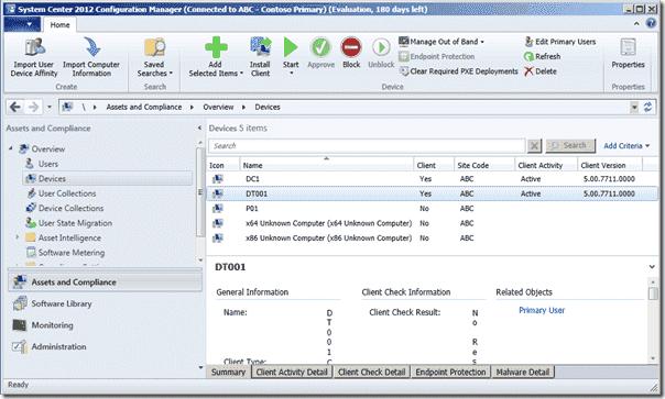Configuration Manager 2012 SP1 - Client versions