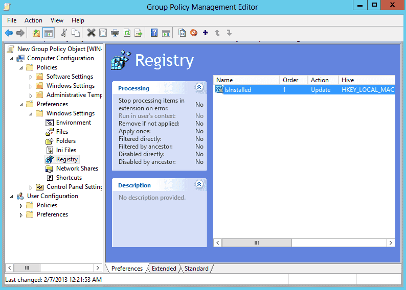Disable Internet Explorer Enhanced Security Configuration with Group Policy