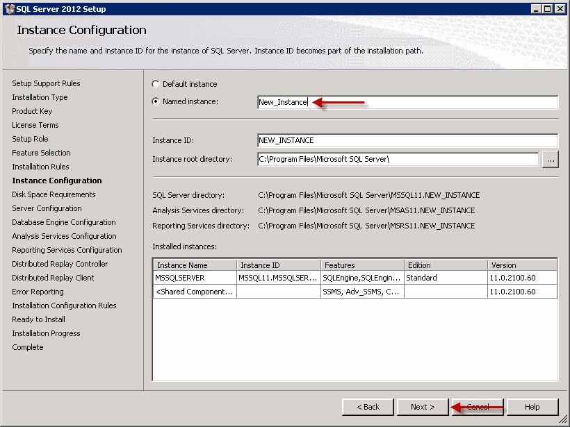 How To Create A New Sql Server 2012 Instance 4sysops