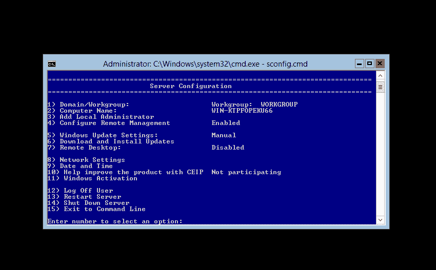 Windows Server 2012 Server Core – Part 5: Tools – 4sysops