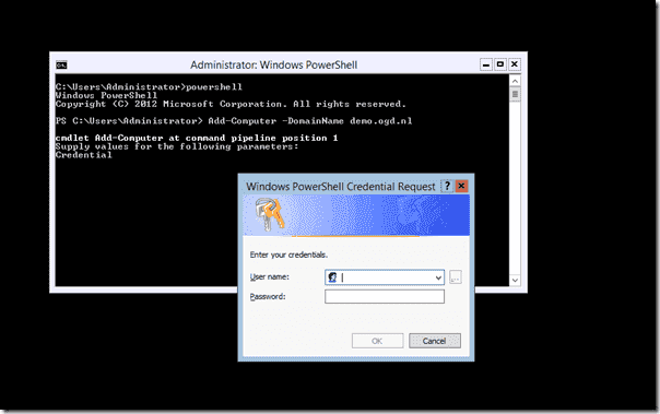 Server Core - Domain Join