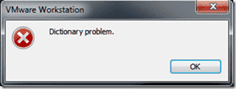 Dictionary problem - A duplicate entry in your VDX file produces this error