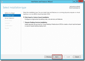 Install FSRM on Windows Server 2012 using Server Manager 3