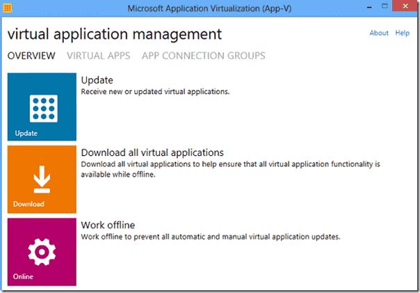 The App-V 5 Client