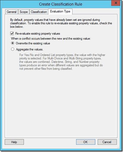 Evaluation Type