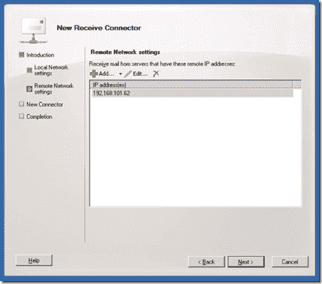 Allow Exchange relay emails from certain IP addresses – 4sysops