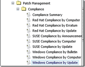 Patch Management reporting