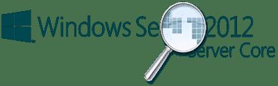 Windows Server 2012 Server Core