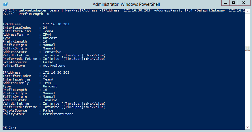 NIC Teaming with PowerShell – 4sysops