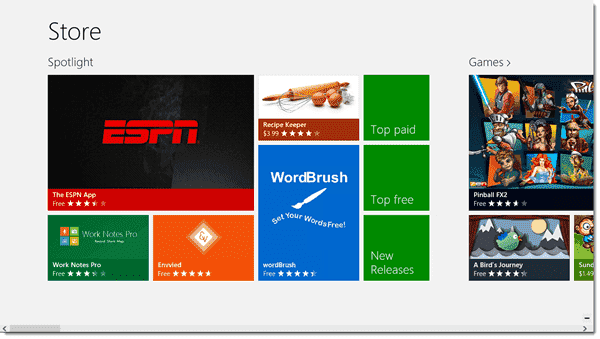 The Windows Store