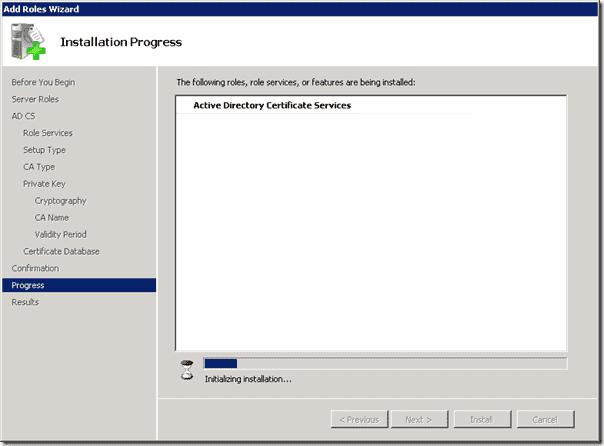 Certificate - Installing