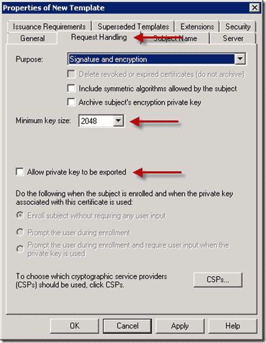 How to deploy certificates with group policy part 2 configuration template duplicate computer template request yelopaper Choice Image