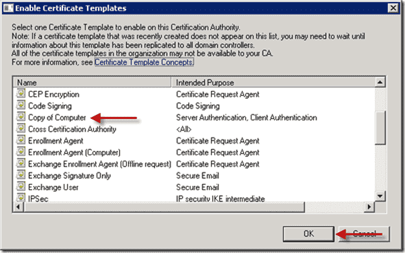 How to deploy certificates with group policy part 2 configuration template duplicate computer template select yelopaper Gallery