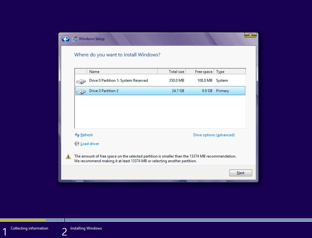 How to install Windows 8 on a UEFI PC – 4sysops