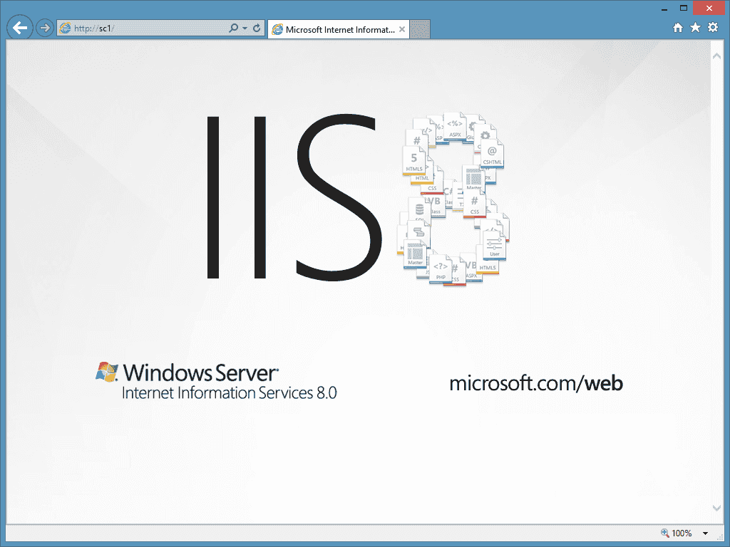 Internet Information Services (IIS) on Server Core – 4sysops