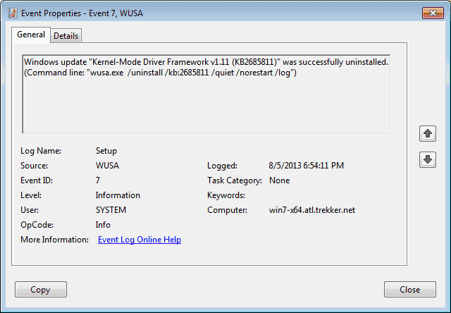 How to uninstall Windows Updates – 4sysops