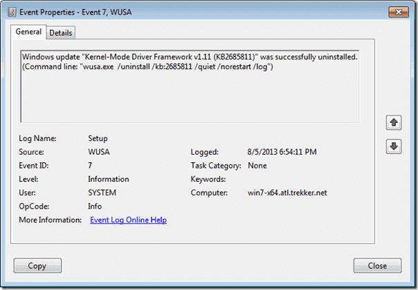 uninstall Windows Updates | Yogesh