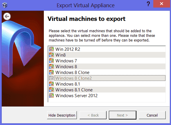 Move VirtualBox folder with virtual machines to a new