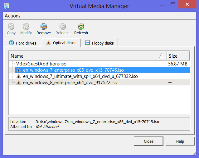 Move VirtualBox folder with virtual machines to a new location – 4sysops