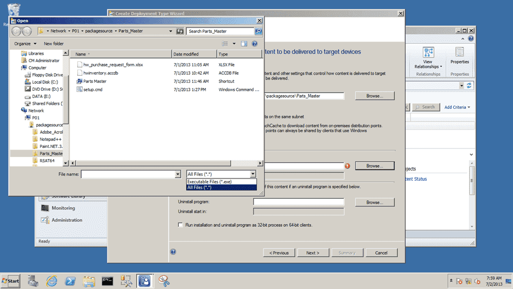 How to deploy a scripted application installation with SCCM