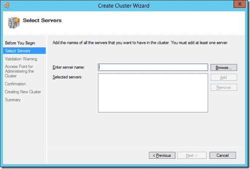Create Cluster 2