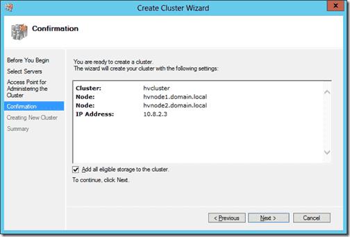 Create Cluster 6