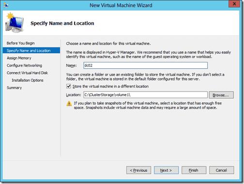 Create New Virtual Machhine 2
