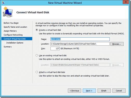 Create New Virtual Machhine 5