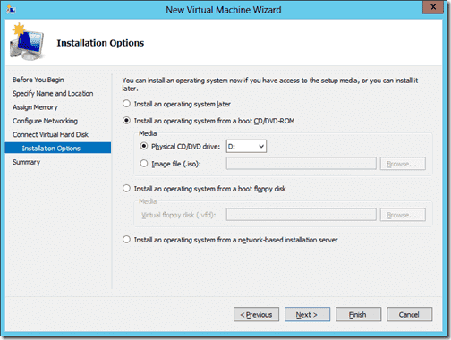 Create New Virtual Machhine 6