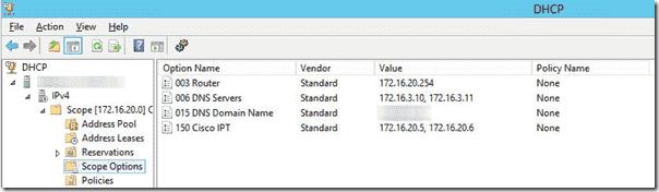 Tftpd32 Dhcp Option 150 Configuration File