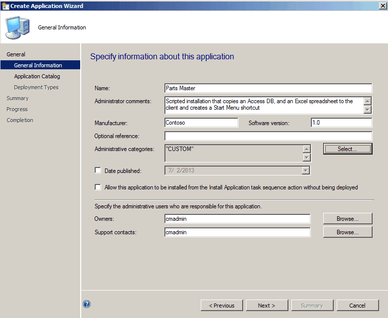 How to deploy a scripted application installation with SCCM 2012