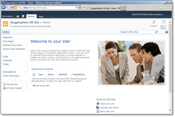 SharePoint 2010 Web app