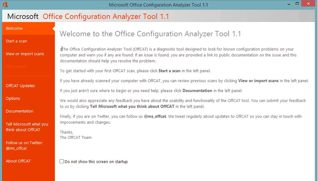 microsoft office configuration analyzer tool 2.0 download