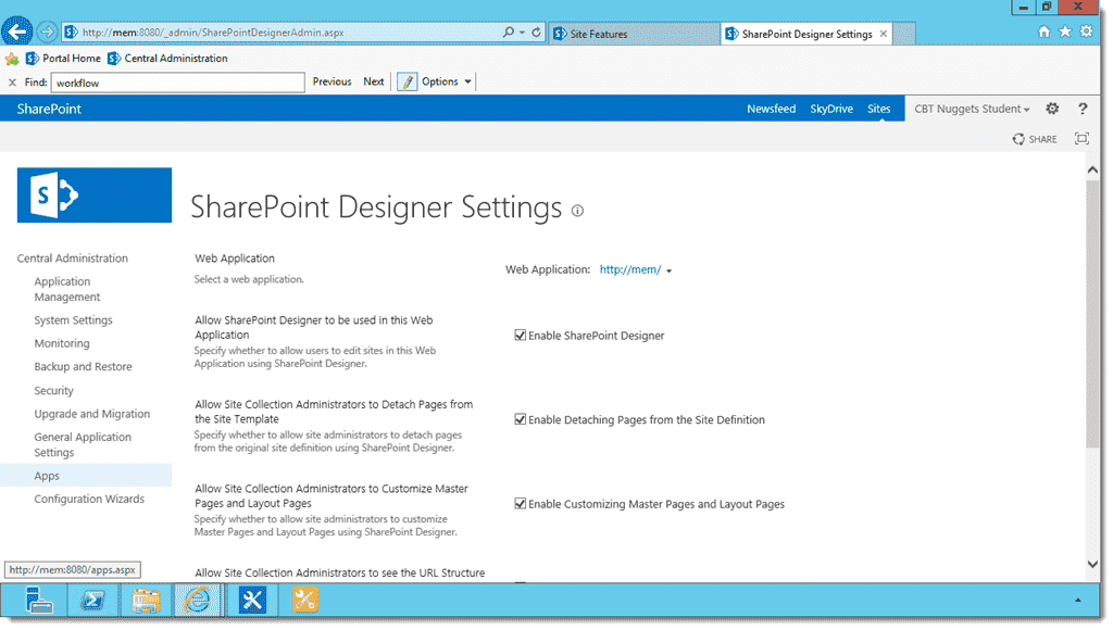 Key Changes In Sharepoint Designer 2013 4sysops