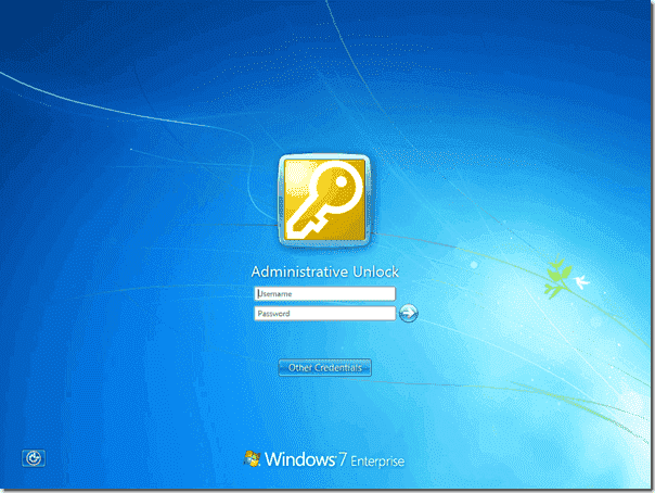 Unlock Windows 7