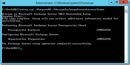 Prepare Active Directory