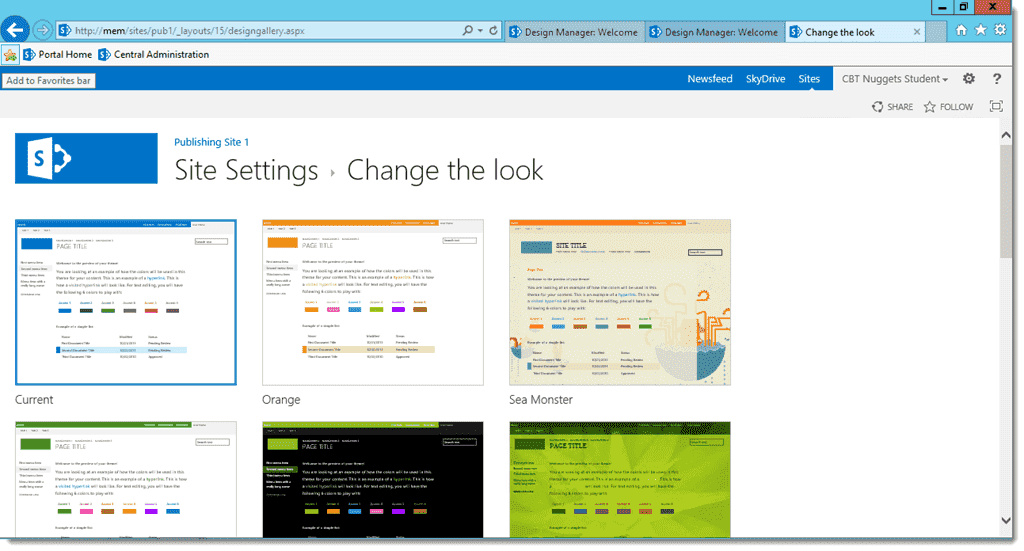 Branding your SharePoint 2013 Site by using Design Manager – 4sysops